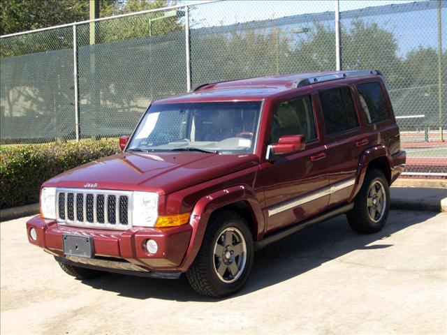 2007 JEEP COMMANDER OVERLAND 2WD red rock crysta  all internet prices are reduced for cash cas