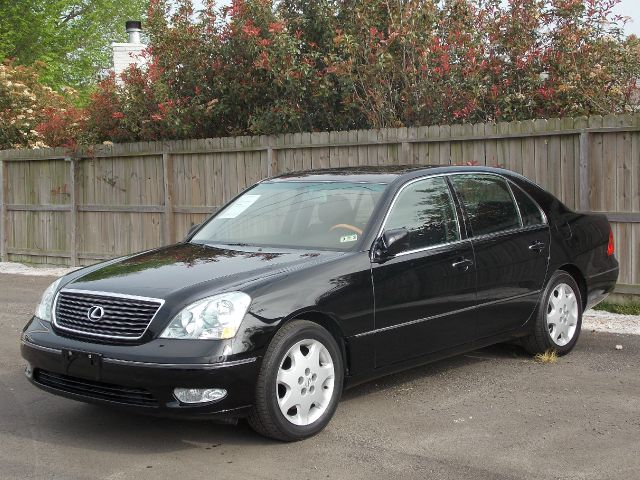 2003 LEXUS LS 430 SEDAN black  all internet prices are reduced for cash cashiers check or sam