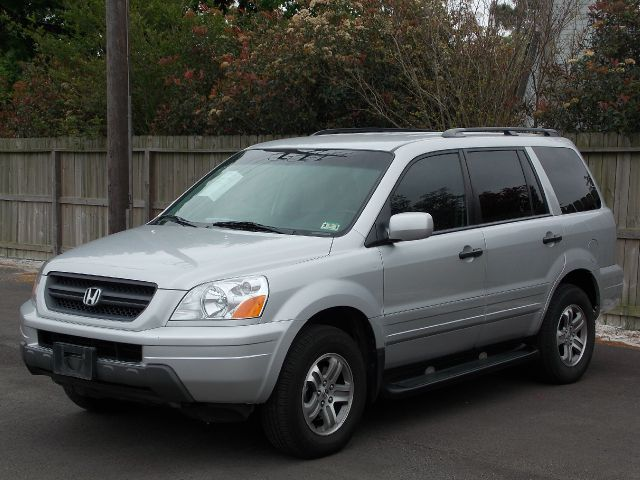 2003 HONDA PILOT EX W LEATHER silver  all internet prices are reduced for cash cashiers chec