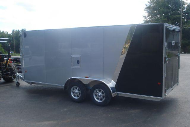 2013 Alcom 23 ft Aluminum Enclosed Snowmobile Trailer  - Holley NY