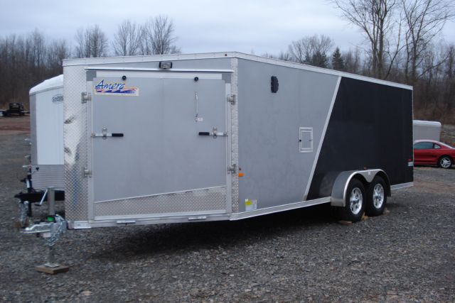 2013 Amera-lite 23 ft Aluminum Enclosed Snowmobile Trailer  - Holley NY