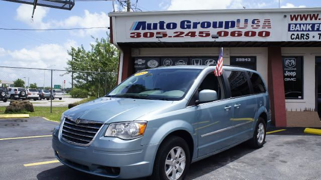 2010 CHRYSLER TOWN  COUNTRY TOURING blue abs brakesadjustable foot pedalsair conditioningalloy