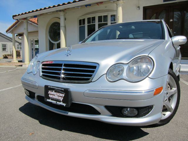 2007 MERCEDES-BENZ C-CLASS C230 SPORT SEDAN silver super clean car sport pkg moonroof alloy whee